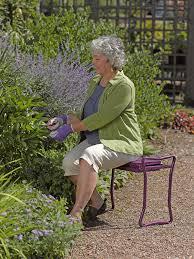 amazon com gardener u0027s supply company extra wide seat folding