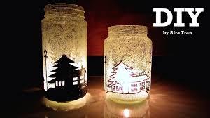 halloween candle jars aira tran diy christmas decorations candle jars