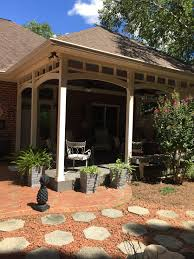 timbertech decking on custom open porch by arch adeck in greensboro nc jpg