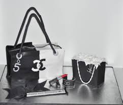 purse gift bags chanel purse cake and gift bag cake cakecentral