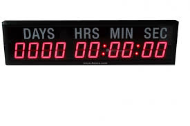 azoou it2 310r 9999 day hour minute second led countdown and count