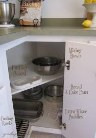 how to organise kitchen corner cupboard organized space of the week kitchen the baking zone