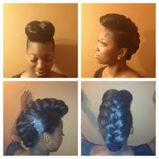 braided pompadour hairstyle pictures 8 best box braids pompadour images on pinterest natural hair
