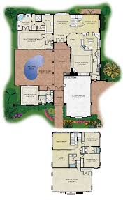 house plans with courtyards florida house plans with courtyard pool escortsea