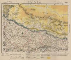 Map Of India And Nepal by 10mapletts