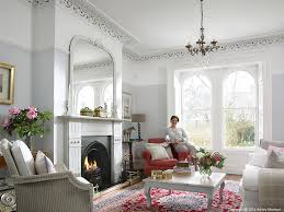 emma cooper in the sitting room of her victorian semi detached