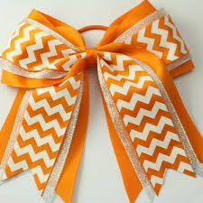 big bows for hair shop chevron cheer bow on wanelo