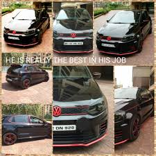 volkswagen polo black modified my vw polo gt tsi modified page 8 team bhp