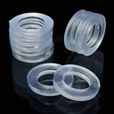 10pcs transparent 1 2 inch rubber shower hose washers rings for