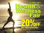 OG Health & Wellness Fair 2011 | Singapore Everyday On Sales
