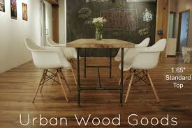 fascinating rustic dining room design using reclaimed wood dining