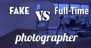 How To Make Fake Report Card - fake vs pro photographer can people tell the difference