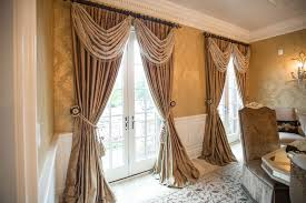 dining room window treatments fabulous elrene medalia window
