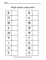 ordinal numbers worksheet teaching work pinterest single