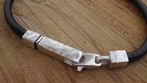 bracelet silver leather images Unique mens silver leather bracelet love2have in the uk jpg