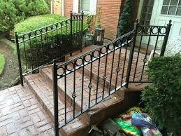 chicago wrought iron railings handrails contractor outdoor