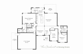 ranch floor plan amherst ranch home u2013 henning estates