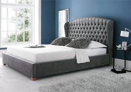 bed frames upholstered bed frame king headboard vs full bed