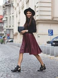 how to style a midi skirt instagram fashion tips