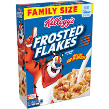 kellogg u0027s frosted flakes cereal family size 26 8 oz walmart com