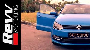 volkswagen singapore vw polo 1 2 tsi revv motoring youtube