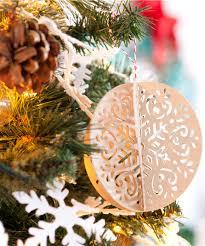 project center 3d ornaments