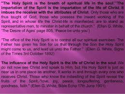 Holy Spirit My Comforter Godhead 7 The Holy Spirit Bible And Sop