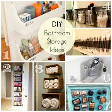 Storage Ideas For Bathroom by Cathey With An E Saturday U0027s Seven Bathroom Organization And