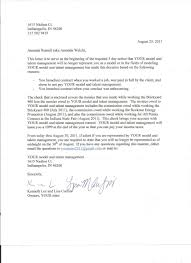 Termination Letter Template Sample Letter Of Intent To End Contract 3 Sample Termination Of