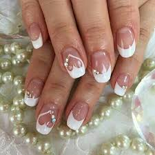 30 like wedding nails for your big day easy nail designs