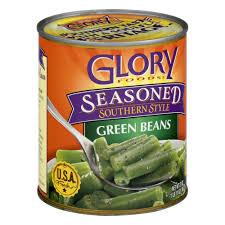 glory foods seasoned country style string beans 27 oz walmart com