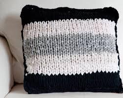 Cusion Cover Simple T Shirt Knit Cushion Cover