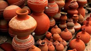 Pots For Sale Traditional Earthen Pots And Piggy Banks For Sale In India Youtube
