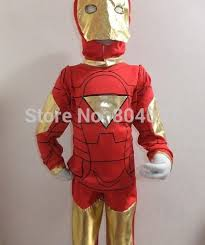 Iron Man Halloween Costume Children Halloween Party Costume 3 7 Ages Kid Comic Marvel Iron