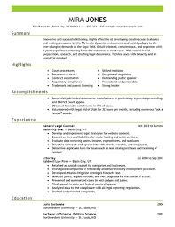 Executive Resume Samples   Mary Elizabeth Bradford   The Career