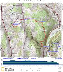 Green Ridge State Forest Map by Flt Bucks Brook State Forest