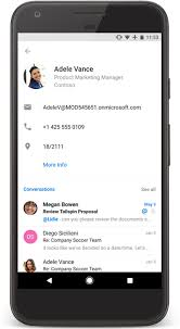 contacts android app outlook for android gets the ability to edit your contacts