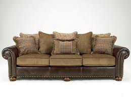 western leather sofa cordoba traditional faux leather chenille sofa couch u0026 loveseat