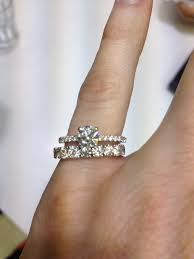 eternity wedding bands cant decide on wedding band show me thin pave erings with