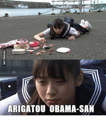 Japan Memes - 25 best memes about thanks obama japanese thanks obama
