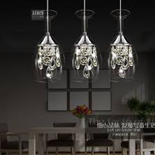 Chandelier Wine Glass Led Crystal Chandelier Wineglass Dining Room Shade Ceiling
