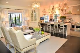 Galley Kitchen Open To Living Room Cote De Texas Feb 12 2017