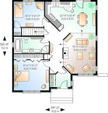 americas best floor plans house plan 034 00913 narrow lot plan 1 170 square feet 2