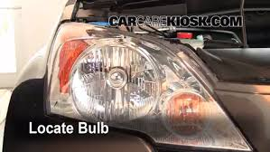 honda crv headlight replacement headlight change 2007 2011 honda cr v 2009 honda cr v ex l 2 4l