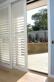 curtains for sliding patio doors in kitchen curtains or blinds for