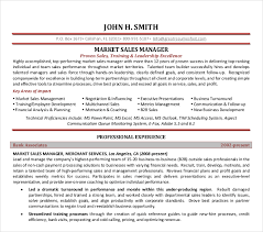 sales manager resume template 10 sales manager resume templates pdf doc free premium