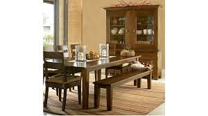 Basque Honey Wood Dining Chair Crate And Barrel - Barrel kitchen table