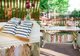 Summer Backyard Wedding Ideas Backyard Summer Engagement Party Engagements Party
