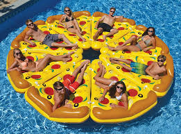 amazon pool floats complete pizza pool float set the green head