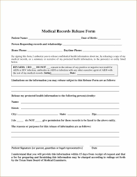 Resume For Medical Records Personal Medical Record Template Exltemplates